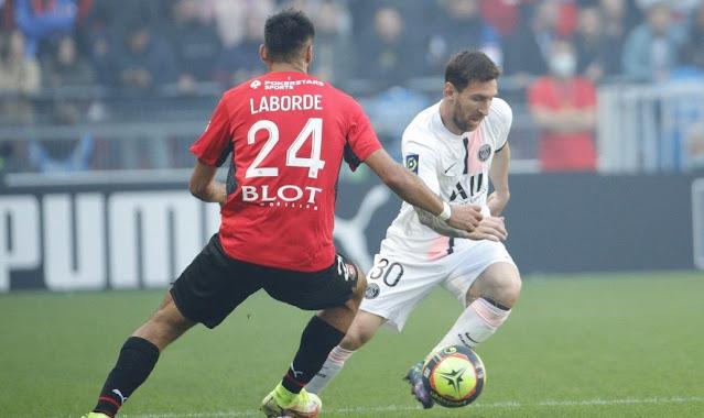 ملخص واهداف مباراة باريس سان جيرمان ورين (0-2) الدوري الفرنسي