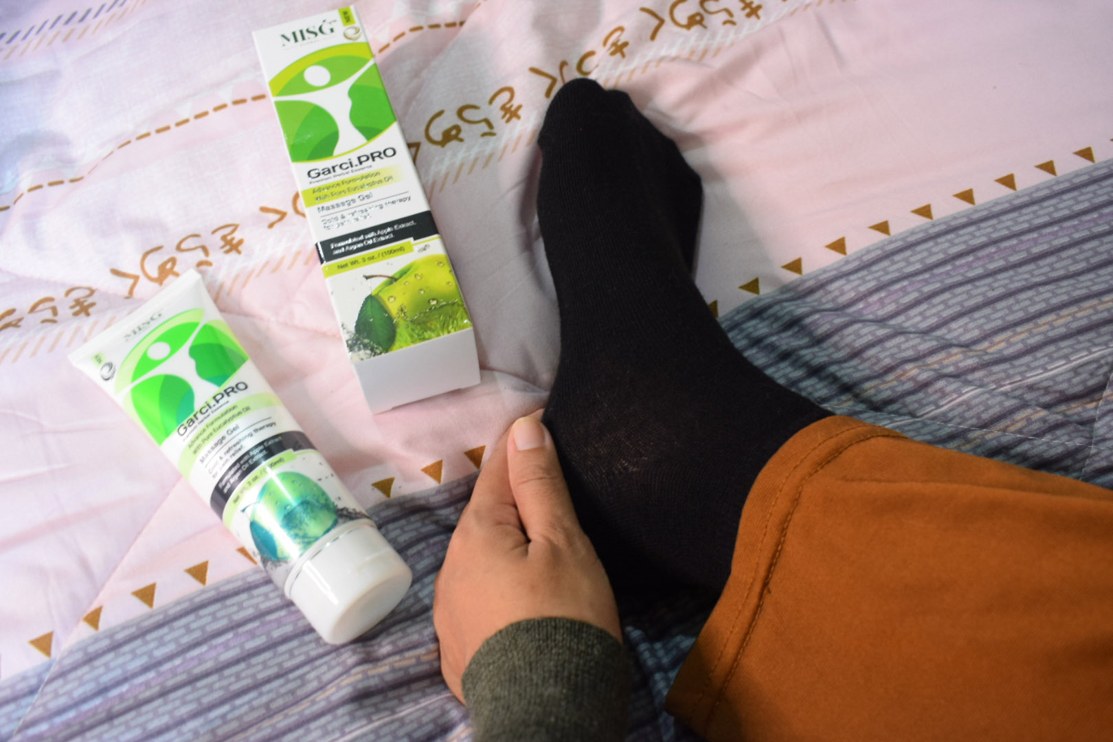 Garci Pro gel Kurangkan Rasa kebas, Sakit Lutut dan Legakan Sakit Sendi