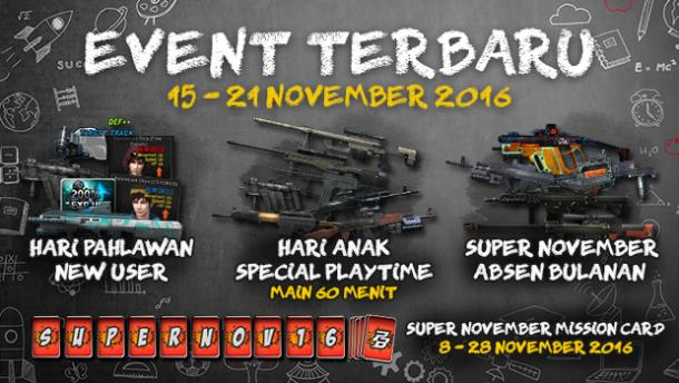 Event dan Promo PB Garena 15 November 2016 - Hari Anak
