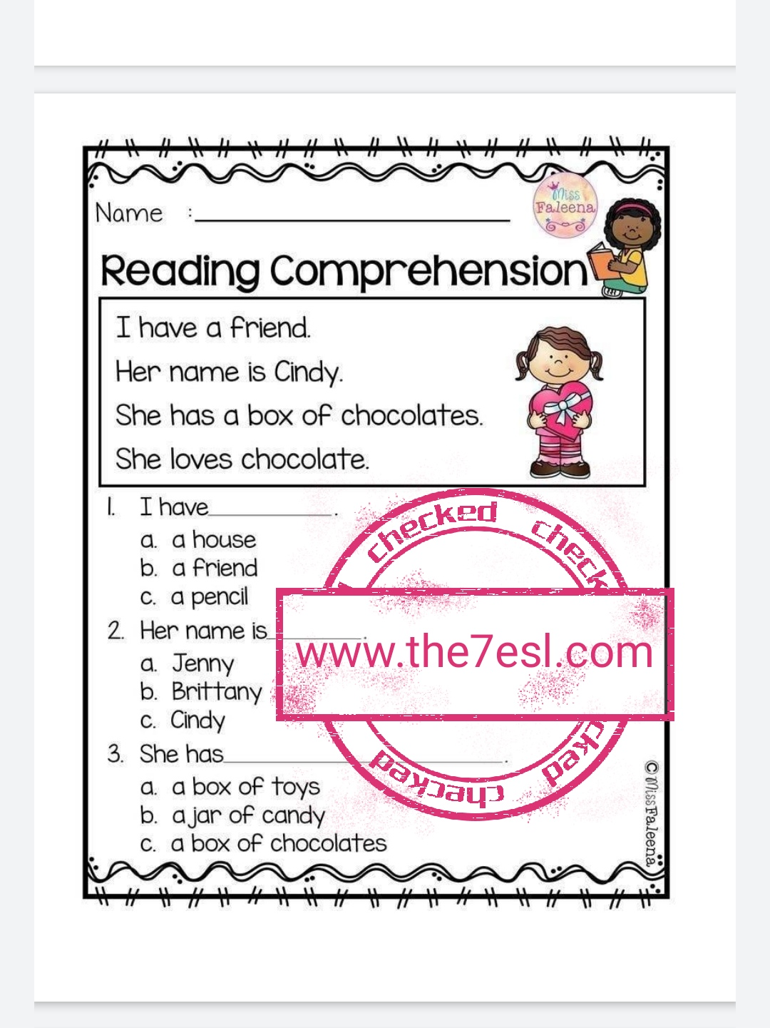 Reading Comprehension Worksheets Grade 2