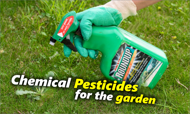 What pesticides can we use in our home gardens ?