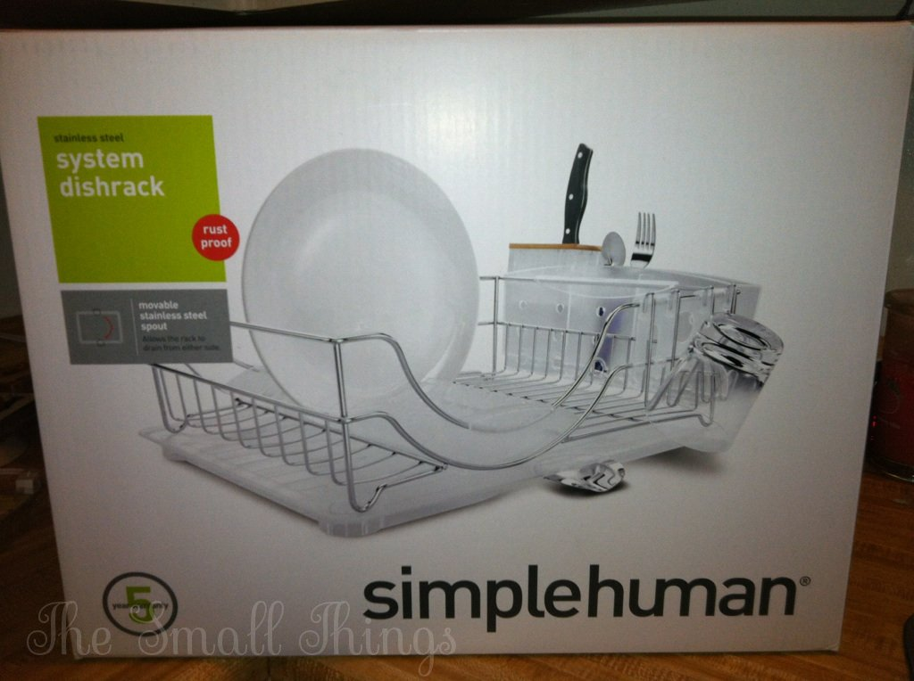 Simplehuman System Dishrack Review