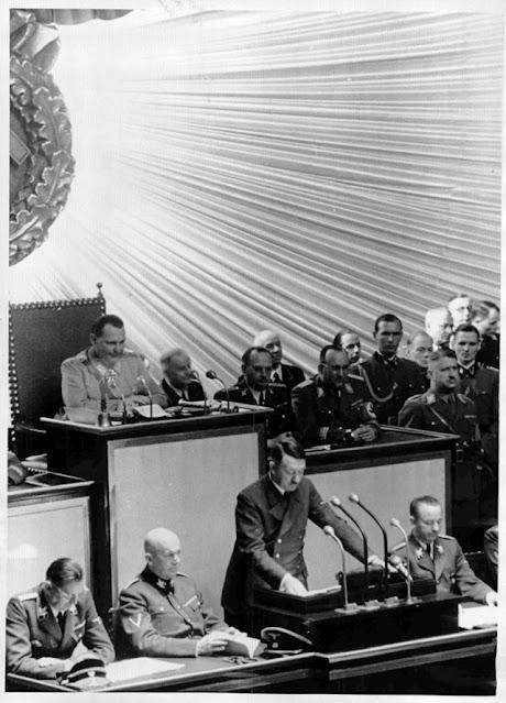 Hitler addresses the Reichstag 26 April 1942 worldwartwo.filminspector.com
