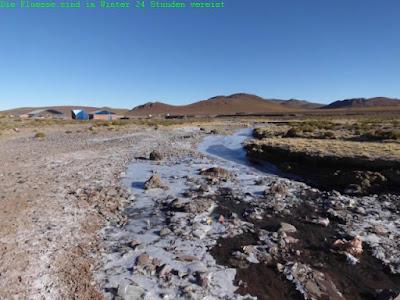 Die Flüsse tauen im Winter nicht mehr auf