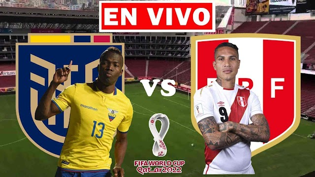 EN VIVO | Ecuador vs. Perú, Jornada 8 de las Eliminatorias Sudamericanas ¿Dónde ver gratis el partido en Tv online en internet?