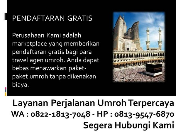 tour and travel umroh di bandung