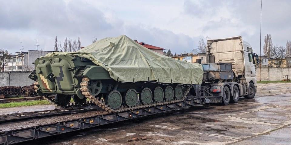 Надходження військової техніки до ЗСУ