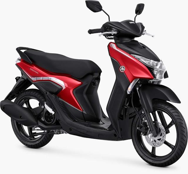 Yamaha gear 125 Metallic Red