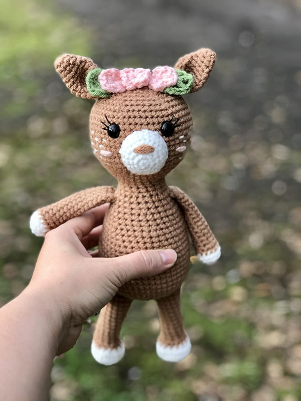 Free Crochet Deer Pattern