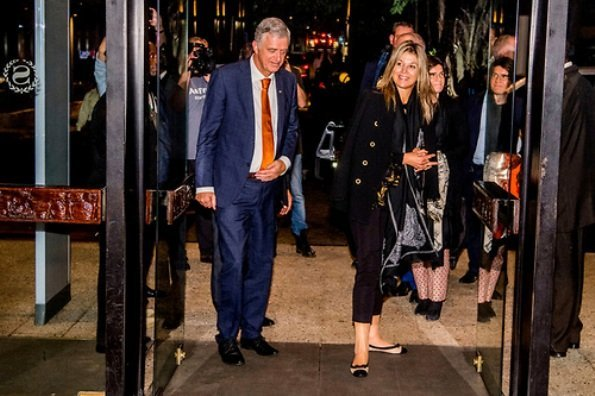Queen Maxima of The Netherlands arrived Lagos city in Nigeria for a three day visit. United Nations