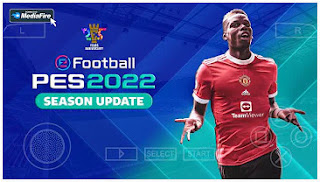 Download PES 2022 PPSSPP MOBILE New Theme Musics & English Commentary Peter Drury