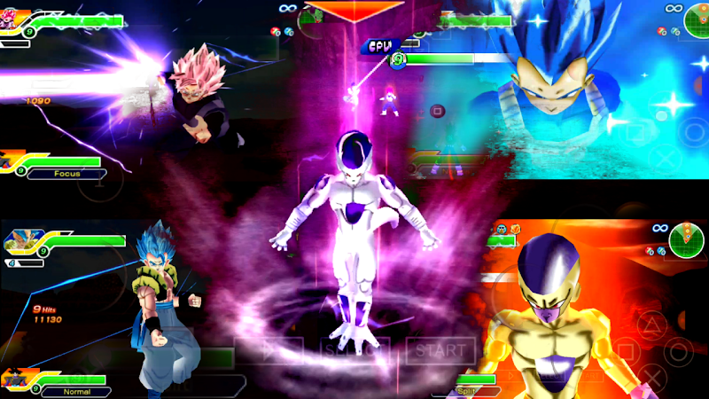 3D DBZ Games - New DBZ TTT mod V3.1 Download 2019 with db Heroes Characters