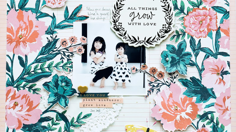 Crate Paper Design Team : Grow With Love