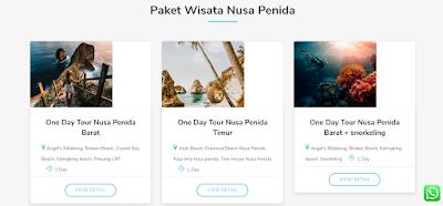Paket Wisata di Go Wisata Nusa Penida - www.radenpedia.com