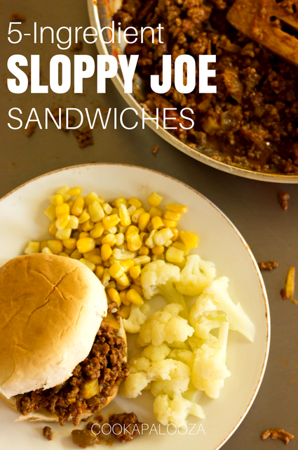 5-Ingredient Sloppy Joe Sandwiches: Family Favorite Meal in Under 20 Minutes