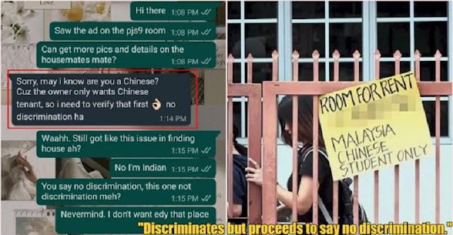 Malaysia Diguncang Rasisme, Hanya Warga Berbahasa China yang Boleh Sewa Properti