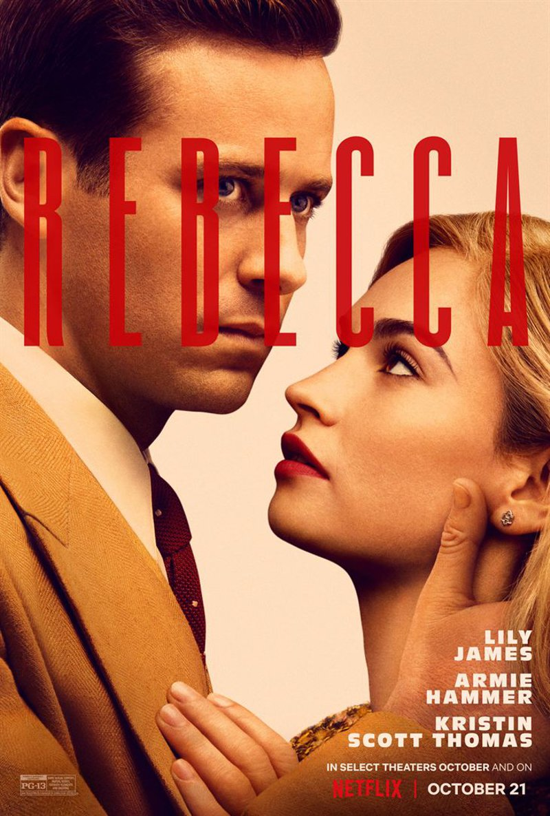 Rebecca - A Mulher Inesquecível, filme da Netflix 2020
