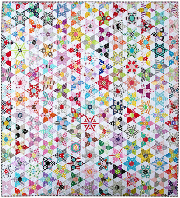 The Daisy Chain Quilt | © Red Pepper Quilts 2016