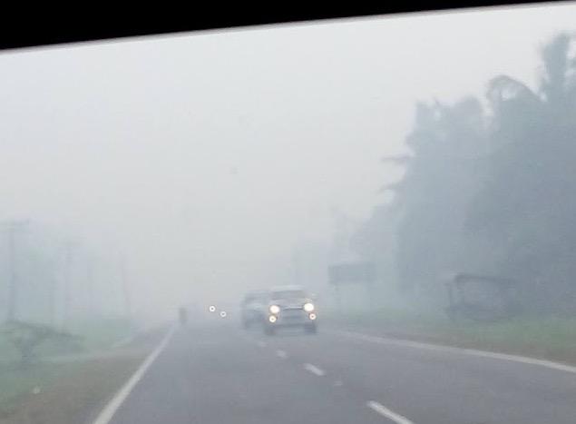 Jerebu Teruk di Membakut 2016
