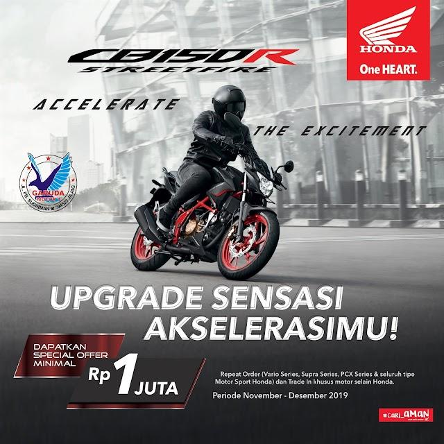 Program Penjualan Sepeda Motor Honda November - Desember 2019