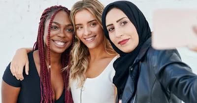 Women recipients of Shutterstock grant fund
