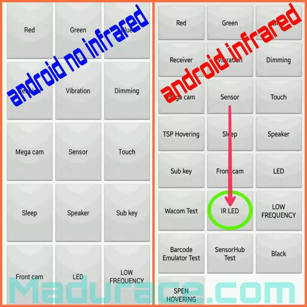 Cara Mengecek Infrared Di Android Madurace