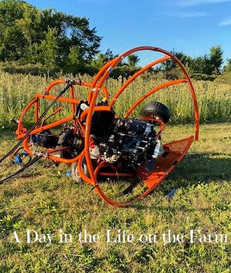 crashed powered parachute