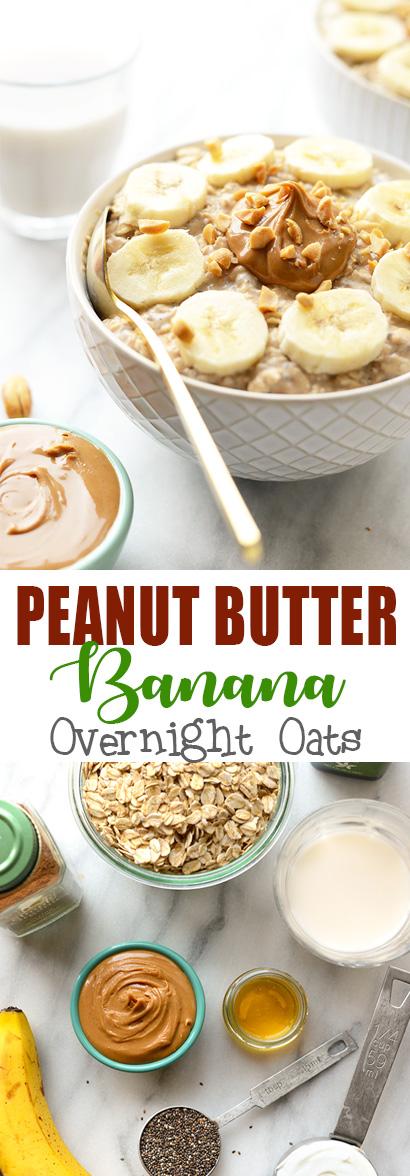 Video: Peanut Butter Banana Overnight Oats