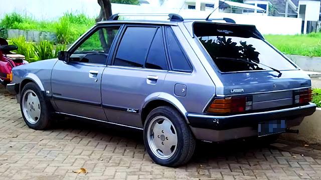 Ford Laser Bongkok KB hatchback