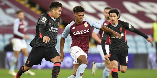Aston Villa Menang Telak Dari Liverpool 7-2