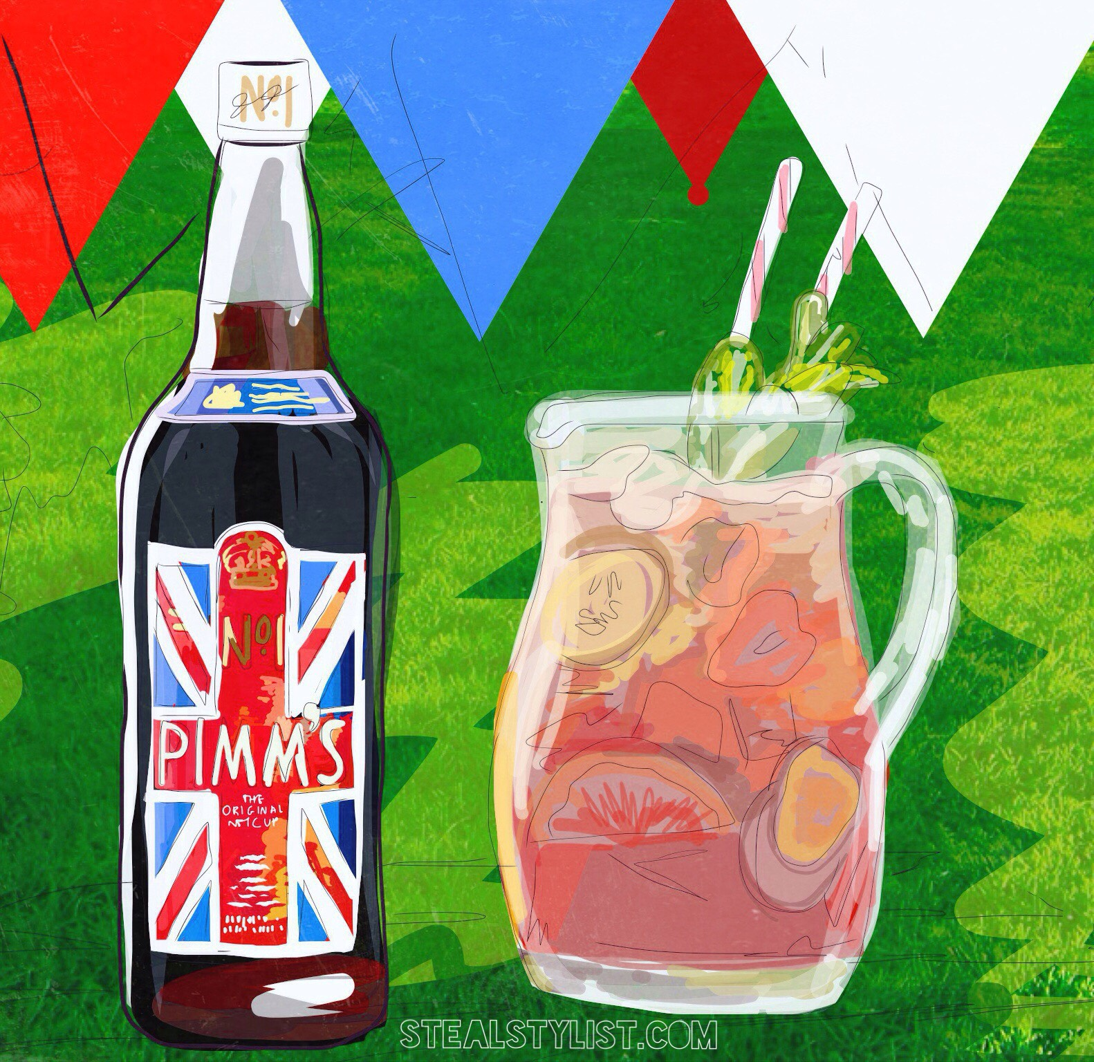 Tips for the perfect Summer Pimms- Stealstylist.com