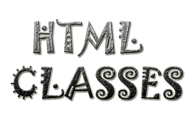 HTML Classes in Urdu