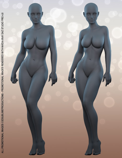 Body by Sublime - Body Shapes for Genesis 3 Female