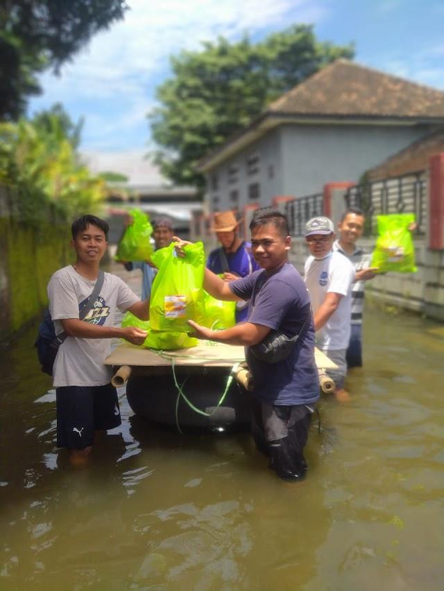 MDRJ Indonesia Turun Memberikan Bantuan Banjir Kudus