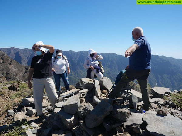 Cabildo de La Palma y Gobierno de Canarias valoran el estado del yacimiento de Pinos Gachos