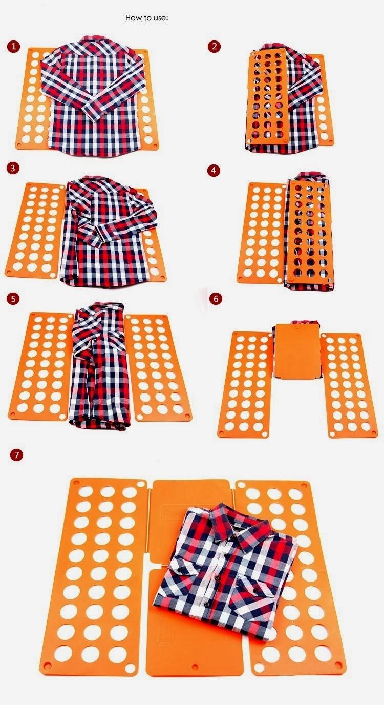 10 cara jimat masa melipat baju yang mungkin korang tak tau.