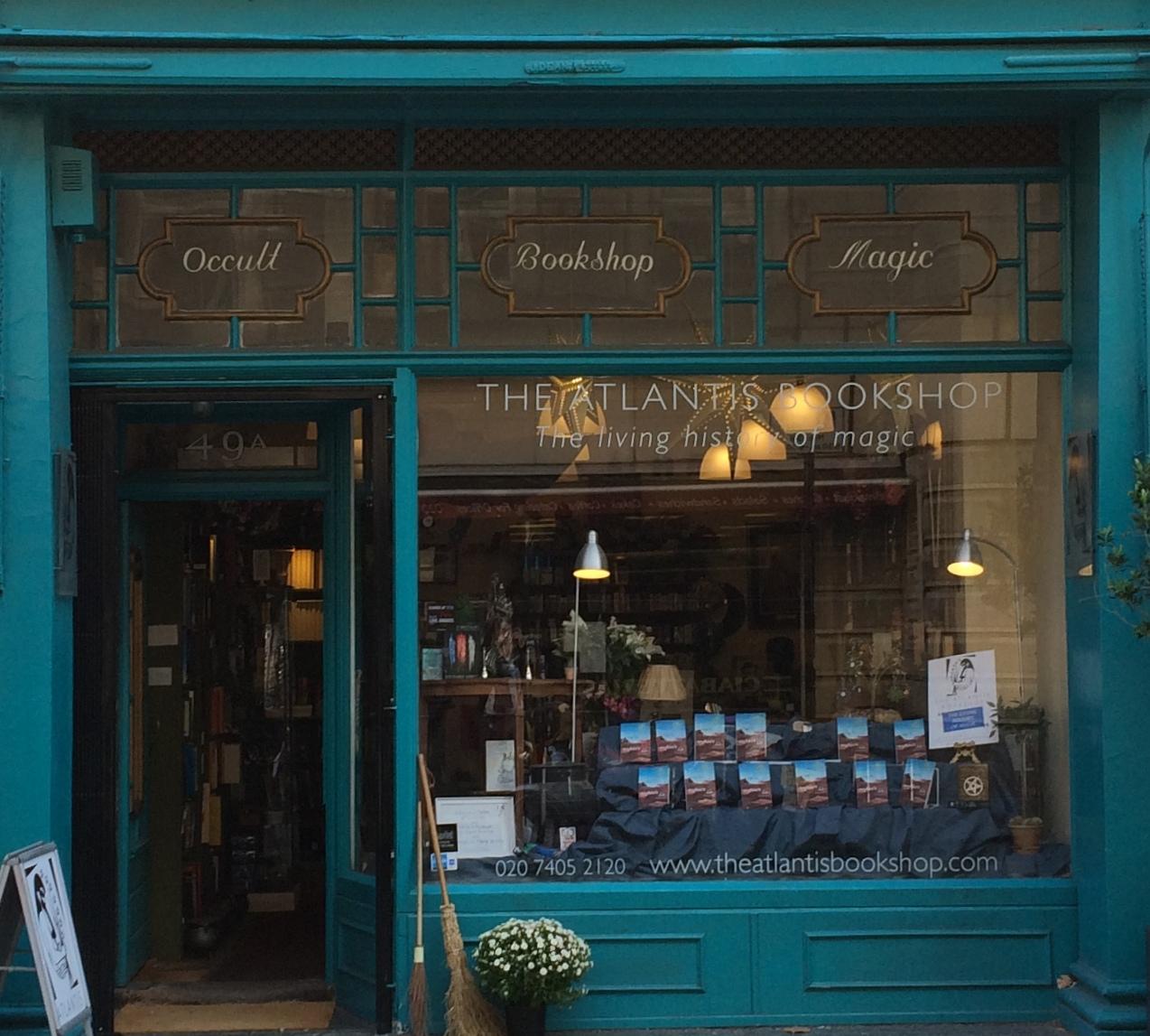 The Atlantis Bookshop Store Front