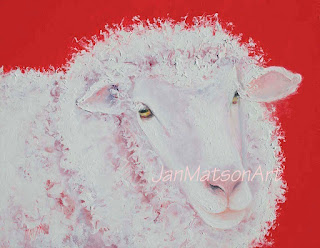 Merino sheep for kitchen decor