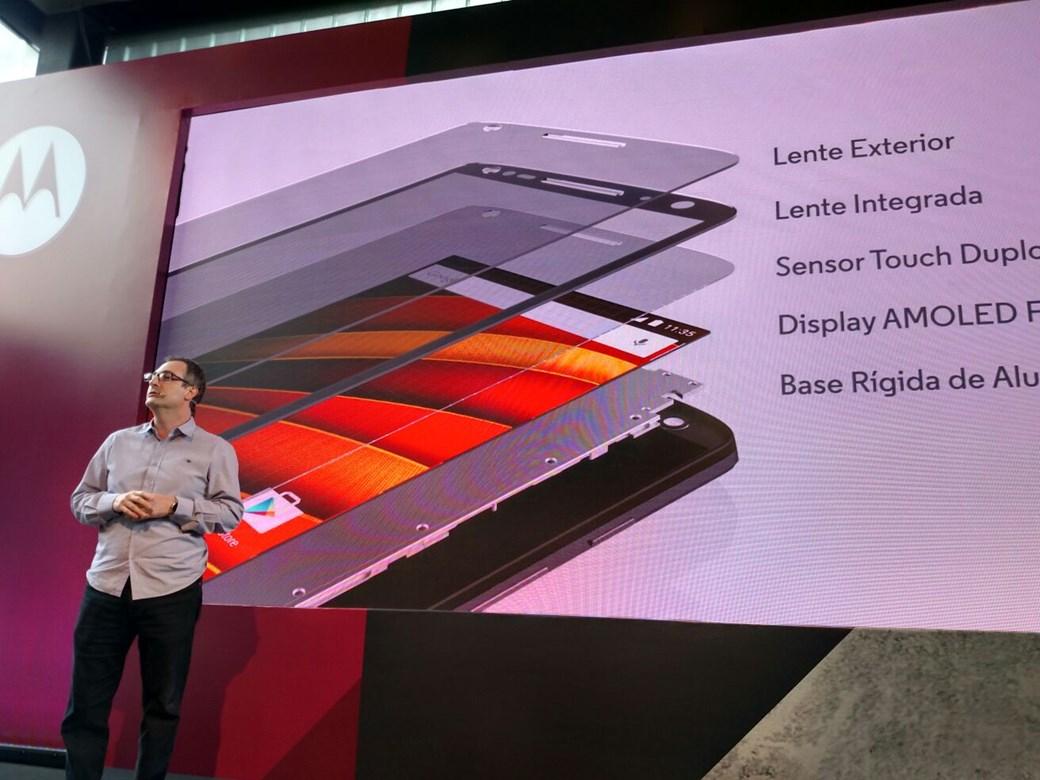 abb6012bee Blog do Carlos Costa  Moto X Force  celular com tela inquebrável ...