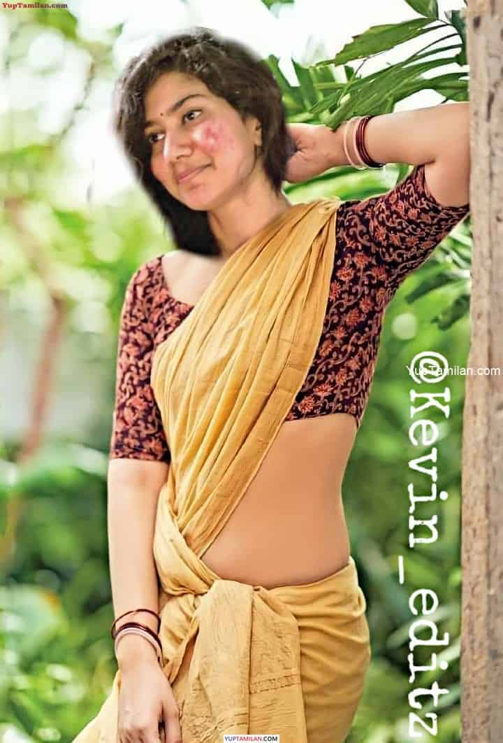 Sai Pallavi Sexy Photos- Navel Show