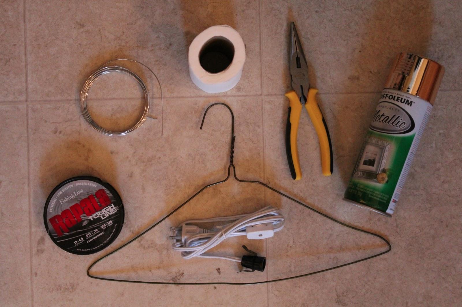 Diy Toilet Paper Core Chandelier Through The Front Door