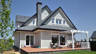 Bentuk Atap Rumah model Pelana Ganda