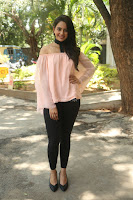 Rakul Preet Singh in lovely Pink Crop Top and Black Trousers at Jaya Janaki Nayaka success meet 061.JPG