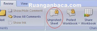 Icon Unprotect Sheet