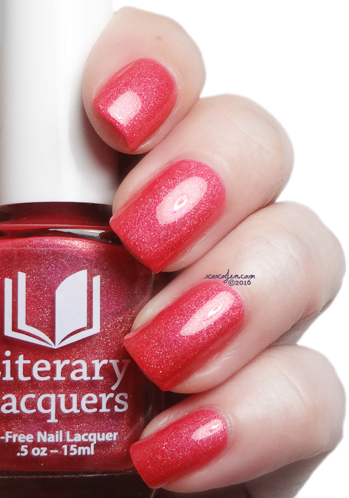 xoxoJen's swatch of Literary Lacquers Tonight's Adventures