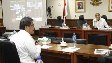 Rapat Kerja Komite I DPD RI dengan Menteri Agraria dan Tata Ruang/Badan Pertanahan Nasional
