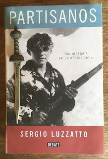 Portada del libro Partisanos, de Sergio Luzzatto