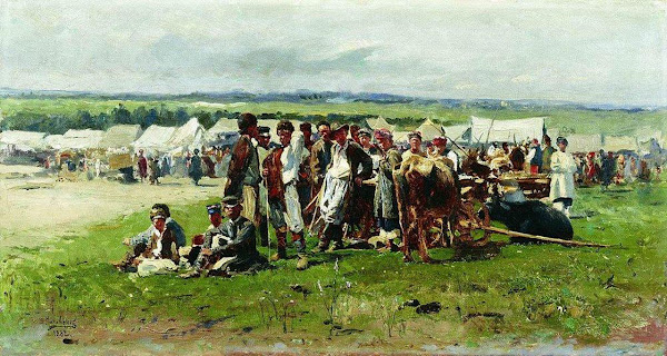 Маковский Владимир Егорович - Ярмарка. 1882