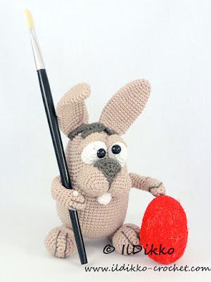 Crochet Amigurumi Easter Bunny