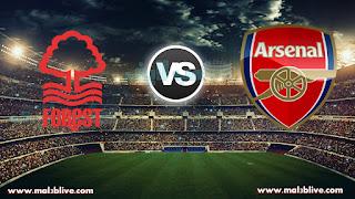 مشاهدة مباراة ارسنال ونوتينغهام فورست Nottingham Forest Vs Arsenal بث مباشر بتاريخ 07-01-2018 كأس الإتحاد الإنجليزي